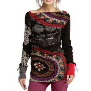 Desigual Vera Knitted long sleeve to